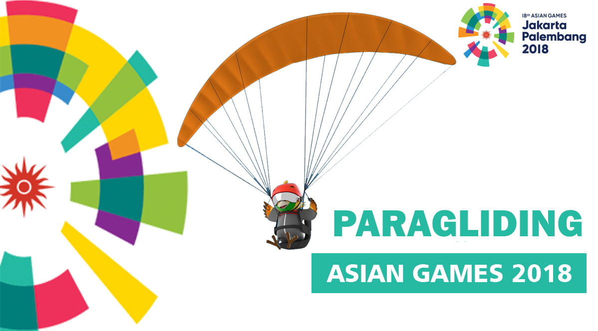 Paragliding in Asian Games 2018 First time ever!! – All you need to know.