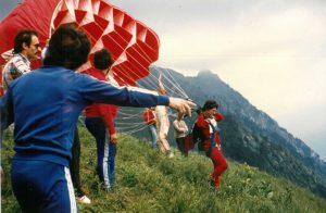 Paragliding History - Temple Pilots, Kamshet