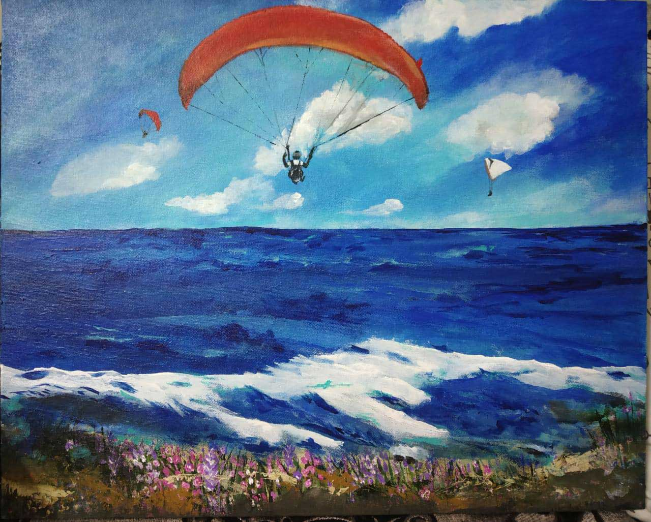 Paragliding in Bali, Temple Pilots