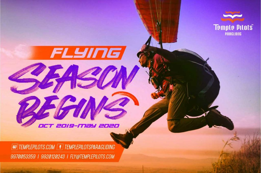 Paragliding in Kamshet - Temple Pilots Paragliding