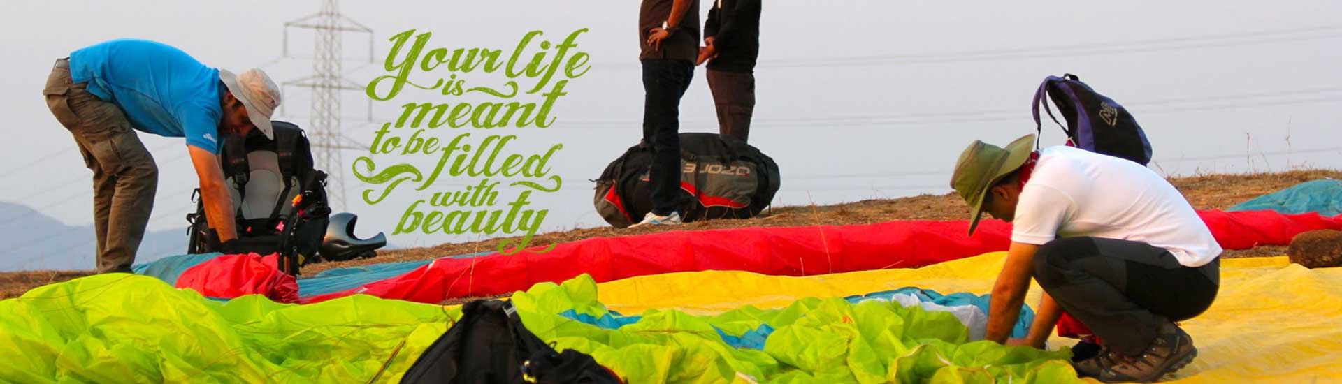 Buy Paragliding Equipment in India - Temple Pilots