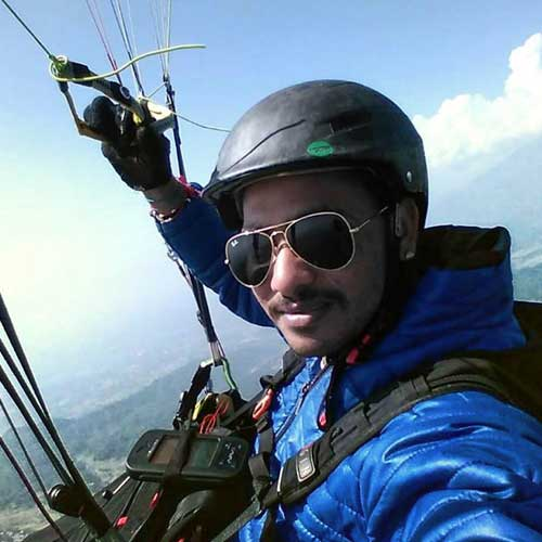 Jitendra Jets - TemplePilots Paragliding