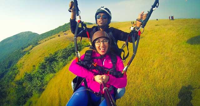 Kamshet Paragliding - Tandem Joyride
