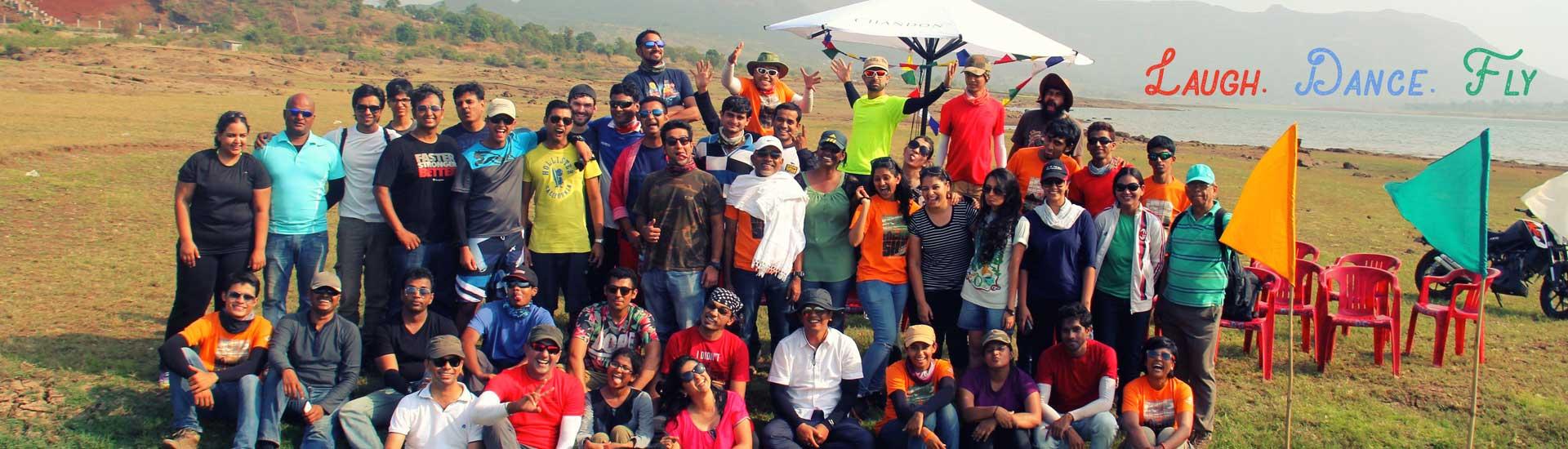 Kamshet Paragliding - Temple Pilots