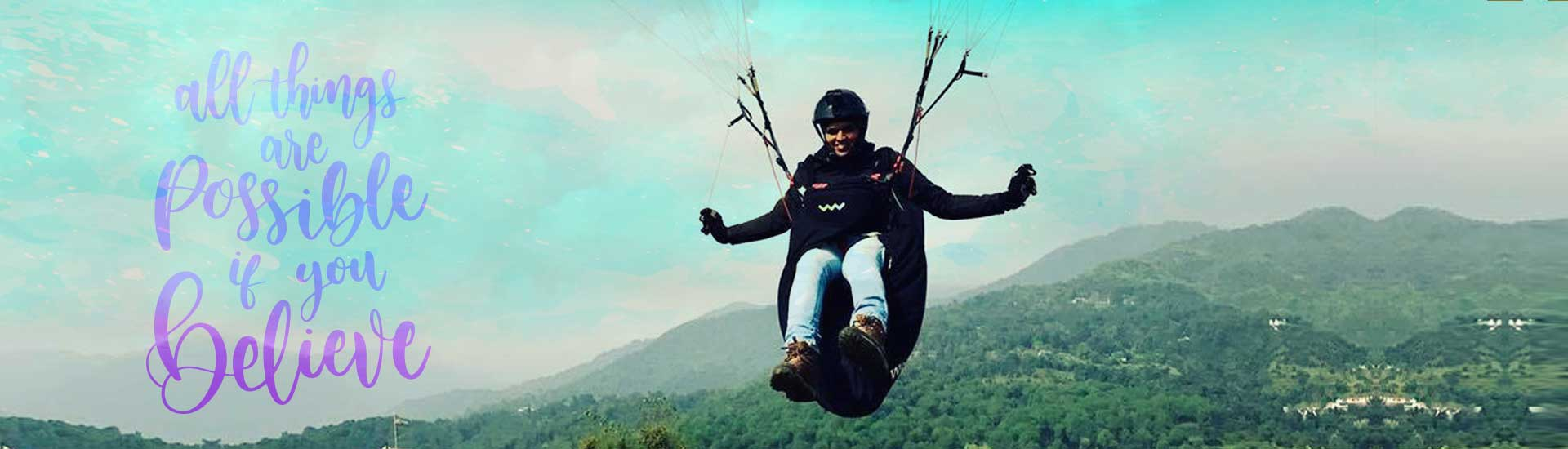 P1 Paragliding Course in Kamshet by Temple Pilots