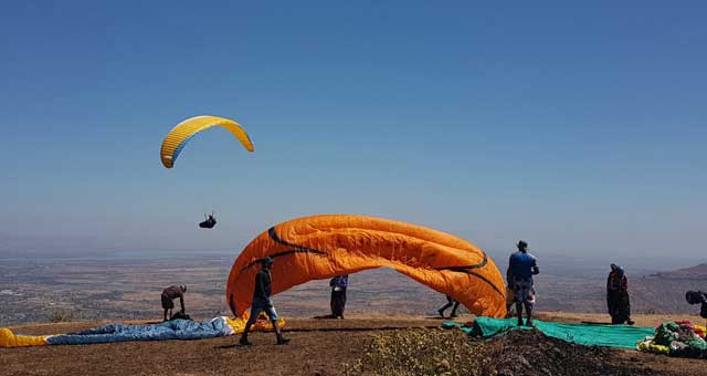 Paragliding Course in Kamshet, Advance Kiting Clinic - Temple Pilots