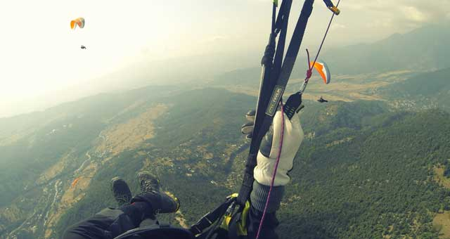 Paragliding Course in Kamshet, Progressive SIV Course - Temple Pilots