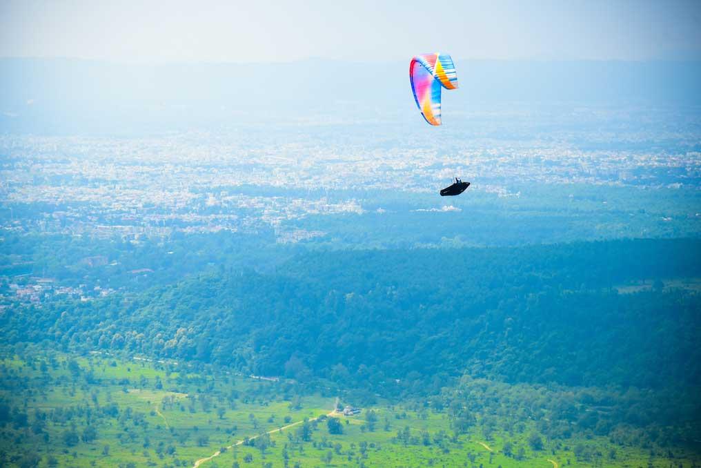 Sachin Pathare - Paragliding - Temple Pilots, Kamshet - POD Harness