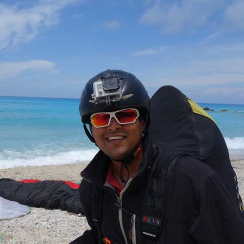 Sachin Pathare - TemplePilots Paragliding