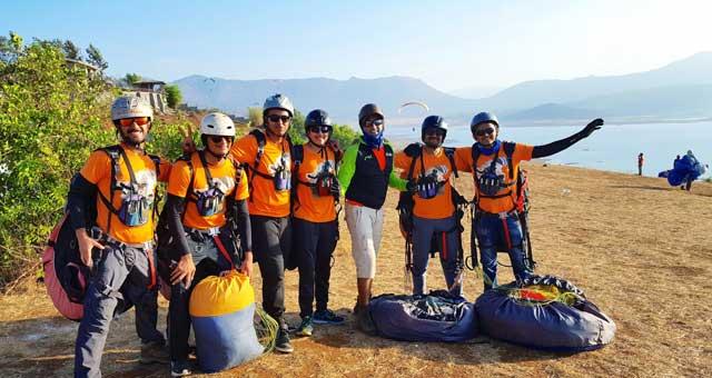Temple Pilots - Paragliding in Kamshet