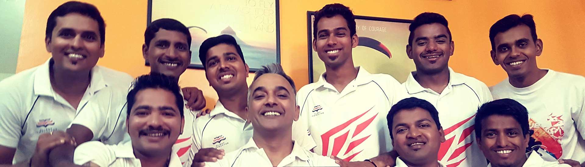 TemplePilots Paragliding Kamshet - Team