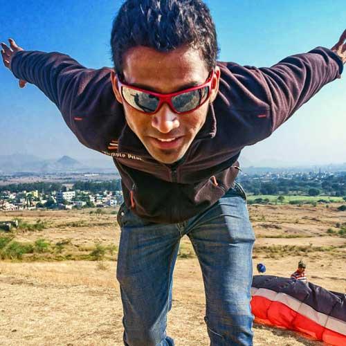 Vikas - TemplePilots Paragliding