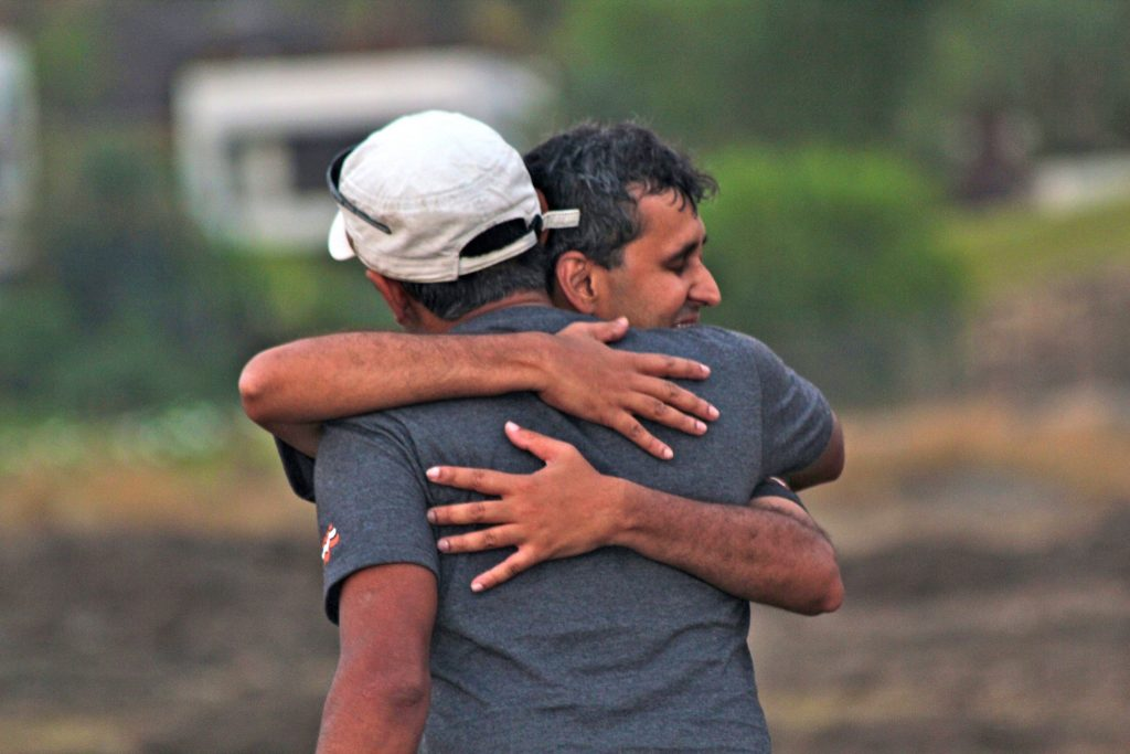 India's first Blind Paragliding Pilots