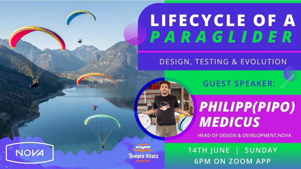 Paraglider's designed