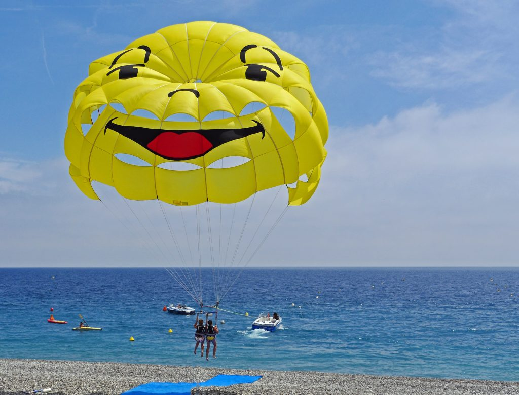 Difference between Paragliding and Parasailing
