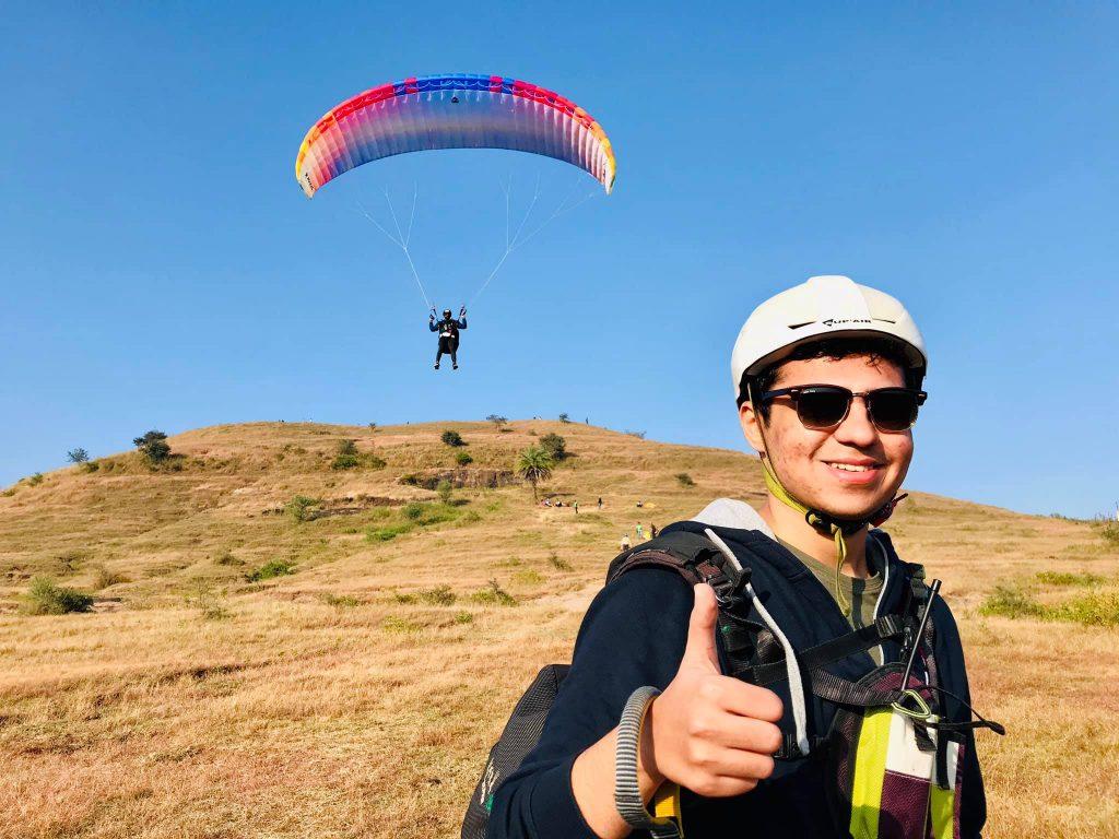 Kamshet Paragliding Started with Diwali