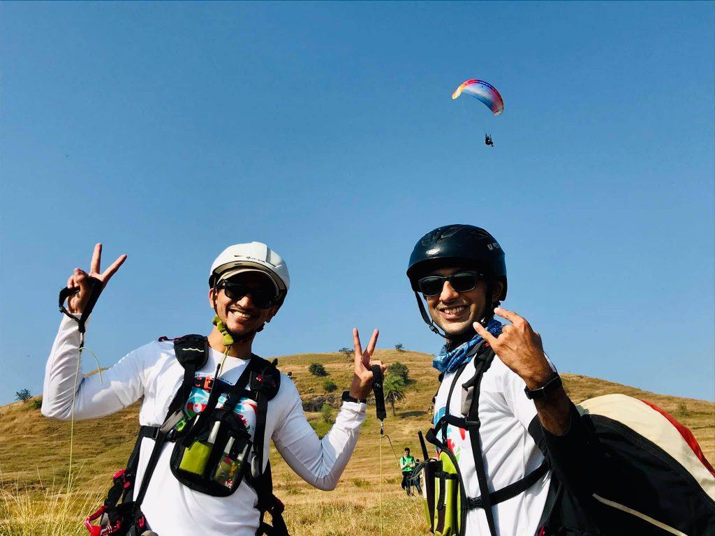 Kamshet Paragliding cost