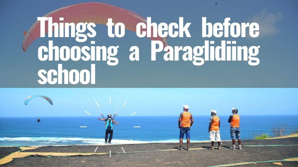 Best Paragliding School
