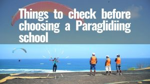 Best Paragliding School
